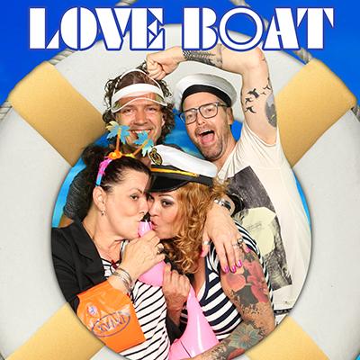 Jarabee op 'The LoveBoat'