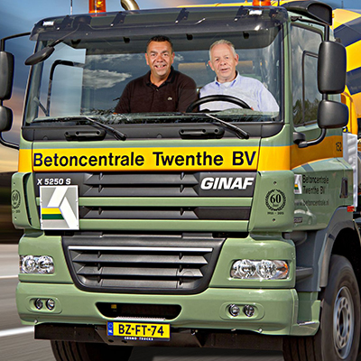60 jaar Betoncentrale Twenthe – Greenscreen