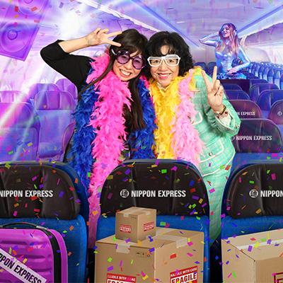 Nippon Express rond de wereld!