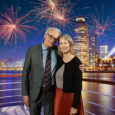 Port of Rotterdam jubilarissen feest